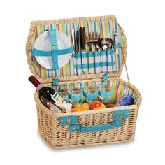 Brandyn Picnic Basket for 4 Gift Set