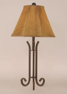 Iron Accent Lamp w/3 Legs