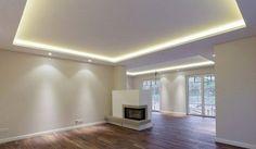 Licht statt Leuchten: Mit Hilfe von Lichtvouten lassen sich Wohnräume besonders schön in Szene setzen. Decken scheinen dann förmlich zu schweben, wie auf diesem Foto zu sehen ist. Foto: Prediger