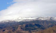 Roquetas de Mar - snow on the Sierra de Gádor © Robert Bovington 17 January 2012