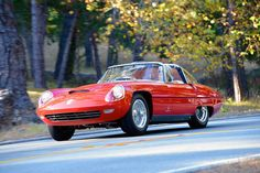 "1960 Alfa Romeo Superflow IV Pininfarina coupé - one of the design ""ancestors"" to the Duetto"
