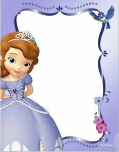 Sofia the first invitations pinterest royal party ticket moldes stopboris Images