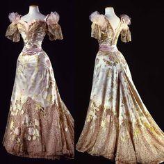 Ball gown, by the House of Worth, ca. 1902. Galleria del Costume di Palazzo Pitti