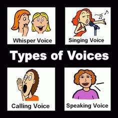 All About Voices FREE PRINTABLE---Can play Radio Game with these but instead of silent voice/ singing voice also use the other cues Kindergarten Music, Preschool Music, Music Activities, Teaching Music, Couple Activities, Fun Games, Singing Lessons, Music Lessons, Singing Tips