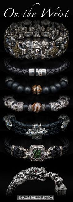 William Henry Bracelets #mensaccessoriesbracelet