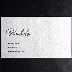 the mandate press, artist business card template.
