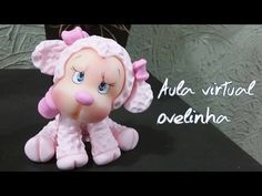 DIY Ovelinha rosa- #1 ESPECIAL 10.000 INSCRITOS/ ELISANGELA MOTTA - YouTube