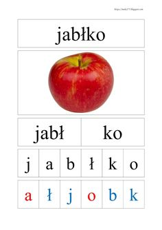 Polish Alphabet, Learn Polish, Thing 1, Special Needs, Travel With Kids, Kids Learning, Montessori, Language, Teacher