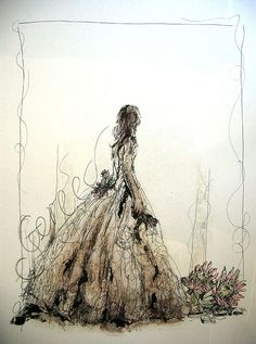 Title: Gereed (Ready) Medium: Mixed media on paper: Printing ink and thinners/chalk Pastel/Charcoal/Pen and Ink/Graphite Size: x Artists thoughts: Revelation The bride of Christ is ready and waiting for her groom. Revelation 19, Bride Of Christ, Printing Ink, Hardy Plants, Chalk Pastels, Inspiring Art, Amazing Flowers, Graphite, Drawing Ideas