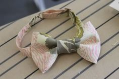 How to Make A Bow Tie - good bow tie pattern