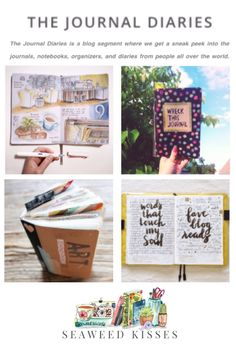 'The Journal Diaries: a blog segment where you get sneak peeks into the journals, notebooks, organizers, and diaries from people all over the world...!' (via Seaweed Kisses)