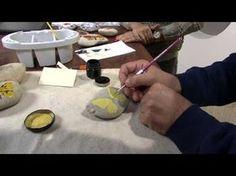 Mulher.com 06/06/2013 Mauricio Moraes - Pintura na pedra borboleta Parte 1/2 - YouTube
