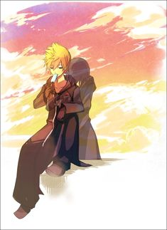 Xion and Roxas. Roxas has such a sad backstory and his life seems to be full of tragedy and loneliness, but he deals with it pretty well, all things considered. That's a big part if why I like his character.