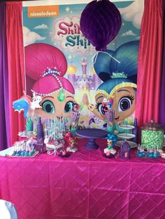 Venice's Shimmer and Shine Party | CatchMyParty.com