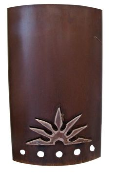Rustic Wall Sconce | Outdoor Lighting Accessories | Metal Lampshade | Home Decor | furniture online | www.tresamigosworldimports.com