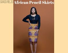Topmost quality African pencil skirts is been offered by grass-fields with different variety and patterns. The interesting thing about them is they offer handmade skirts with the help of their expert's teams who put their 100% to offer the perfectly tailored material.