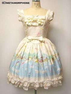 Swan Lake Frill JSK/Ribbon Tulle JSK/High Waist Skirt. by metamorphose temps de fille