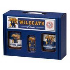 Kentucky Wildcats TailGate Set (Hot Sauce, BBQ, Salsa)