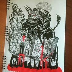 #Chiesa #father #hell #wallpaper #drawing #sketchbook