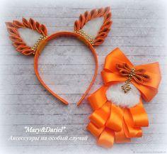 Satin Ribbon Flowers, Felt Flowers, Diy Flowers, Diy Headband, Headbands, Ribbon Crafts, Paper Crafts, Skirts For Kids, Halloween Food For Party