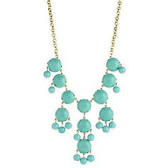 Wimberly Bubble Necklace - Turquoise