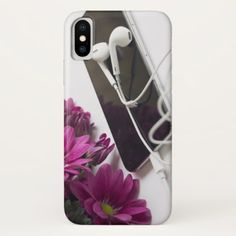 #Music & flowers - Case-Mate Barely There iPhone X - #flower gifts floral flowers diy