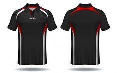 T-shirt polo design, sport jersey templa. Polo T Shirt Design, Polo Design, Sports Polo Shirts, Sport T Shirt, Camisa Formula 1, Cricket Dress, Badminton Shirt, African Dresses Men, Fashion Design Template