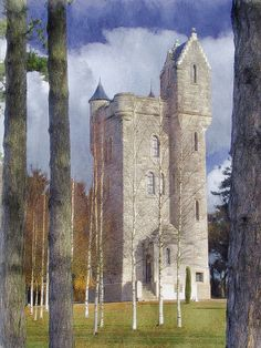 Ulster Tower Memorial, Somme, France