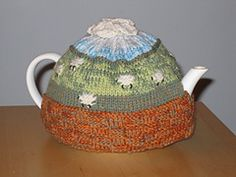 Ravelry: Counting Sheep Tea Cozy pattern by Claudia Lowe