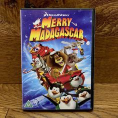 Brand new, factory sealed dvd! Santa and his reindeer crash onto Madagascar it's up to the gang to save Christmas. Shipping is included! David Schwimmer, Dreamworks, Santa And His Reindeer, Ben Stiller, Indie Brands, Madagascar, Merry, Animation, Entertaining