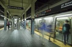 Times Square Subway Timelapse image - Just One Film/ Stone/Getty Images