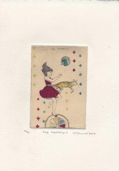 Gravures & Estampes | Atsuko Ishii | The nostalgia | Tirage d'art en série limitée sur L'oeil ouvert Nostalgia, Illustration, Artist, Artwork, Etchings, Prints, Drawings, Open Set, Work Of Art