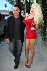 Doug Hutchinson with Courtney Stodden