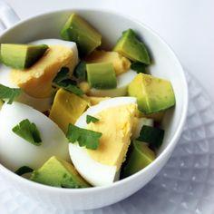 Eggs & Avocado is my favorite breakfast, I add Sriracha or turmeric & pepper too.