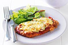Yummy In My Tumbly | Avocado chicken parmigiana