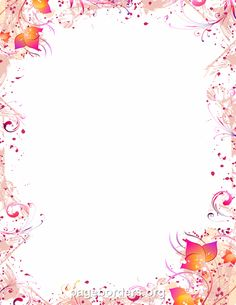 Printable swirl border. Free GIF, JPG, PDF, and PNG downloads at http://pageborders.org/download/swirl-border/