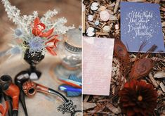 Charles Dickens themed Christmas wedding inspiration | Photo by Gideon Photo | Design and planning When Pigs Fly Events | Read more - http://www.100layercake.com/blog/?p=83655