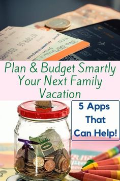 5 apps to help you plan and track your vacation budget, manage your spending and share expenses with fellow travelers. #money #spending #saving #budget #vacation #apps #help Traveling With Baby, Travel With Kids, Family Travel, Traveling By Yourself, Travel Money, Travel Tips, Printable Packing List, Disney World Trip, Travel And Leisure