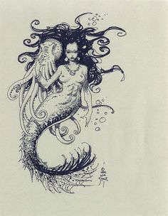 William Stout: Mermaid Comic Art
