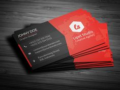 Check out Rise - Modern Business Card Template by Suave Digital on Creative Market