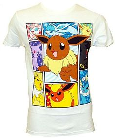 Pokemon Elements Of Eevee T-shirt