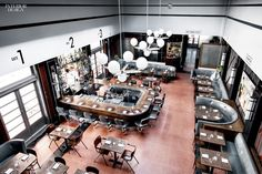 Southern Belle: Parts and Labor Designs the Grey Restaurant in Savannah, GA