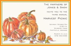 Fall Pumpkins Invita