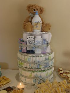 Ohio State Themed Diaper Cake Baby Shower Ideas In 2019
