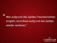 #Zitate #CasinoClub