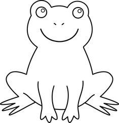 How To Draw A Cartoon Frog For Kids