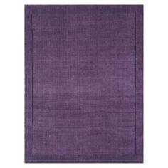 Colours Atma Wool Rug Purple, 5397007035483
