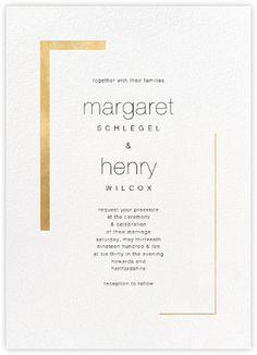 Birch Monarch Suite Invitation Paperless Post