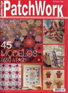 LABORES DEL HOGAR PATCHWORK 68 - Vania Montes - Picasa Web Albums...online book and patterns!