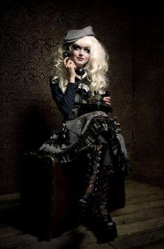Steampunkopath — Steampunk Girls